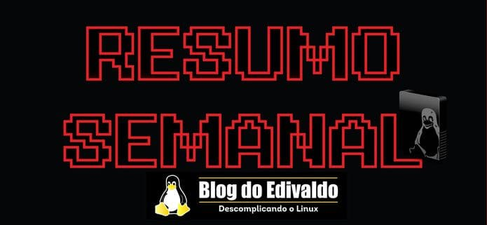 """Resumo semanal de 25/11/2019 a 01/12/2019! Atualize-se!"""" alt=""""Resumo semanal de 25/11/2019 a 01/12/2019! Atualize-se!"""" width=""""695"""" height=""""321"""" class=""""size-full wp-image-115902"""" srcset=""""https://www.edivaldobrito.com.br/wp-content/uploads/2019/12/resumo-semanal-de-25-11-2019-a-01-12-2019-atualize-se.jpg 695w, https://www.edivaldobrito.com.br/wp-content/uploads/2019/12/resumo-semanal-de-25-11-2019-a-01-12-2019-atualize-se-300x139.jpg 300w"""" sizes=""""(max-width: 695px) 100vw, 695px"""" /><figcaption id=""""caption-attachment-115902"""" class=""""wp-caption-text"""">Resumo semanal de 25/11/2019 a 01/12/2019! Atualize-se!</figcaption></figure> <p>Ou já sabe que o <a href=""""https://www.edivaldobrito.com.br/kali-linux-2019-4-mudou-para-o-xfce-desktop-e-ganhou-uma-nova-aparencia/"""" rel=""""noopener noreferrer"""" target=""""_blank"""">Kali Linux 2019.4 mudou para o Xfce Desktop e ganhou uma nova aparência</a>?</p> <p>Se ainda não sabe nada disso, confira a seguir no resumo semanal de 25/11/2019 a 01/12/2019, que tem tudo que foi postado no Blog durante essa semana, e se informe sobre isso e muito mais.</p> <h2>Resumo semanal de 25/11/2019 a 01/12/2019</h2> <p><strong>25/11/2019</strong><br /> <ul class=""""display-posts-listing""""><li class=""""listing-item""""><a class=""""title"""" href=""""https://www.edivaldobrito.com.br/tema-windows-3-11-no-linux/"""">Como instalar o bizarro tema Windows 3.11 no Linux</a></li><li class=""""listing-item""""><a class=""""title"""" href=""""https://www.edivaldobrito.com.br/como-instalar-o-mythtv-no-ubuntu/"""">Media center – Como instalar o MythTV no Ubuntu e derivados</a></li><li class=""""listing-item""""><a class=""""title"""" href=""""https://www.edivaldobrito.com.br/freecad-no-linux-via-flatpak/"""">Como instalar o modeador 3D CAD FreeCAD no Linux via Flatpak</a></li><li class=""""listing-item""""><a class=""""title"""" href=""""https://www.edivaldobrito.com.br/kapman-no-linux/"""">Como instalar o clone de Pacman Kapman no Linux</a></li><li class=""""listing-item""""><a class=""""title"""" href=""""https://www.edivaldobrito.com.br/rocket-menu-appindicator"""