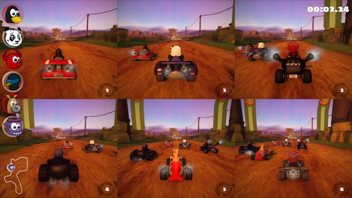 SuperTuxKart 1.1 RC traz multiplayer online aprimorado e beta para iOS