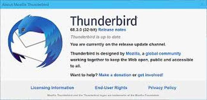 Thunderbird 68.0.3 lançado com correções de bugs e outros recursos