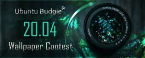 Ubuntu Budgie 20.04 já abriu seu concurso de papéis de parede
