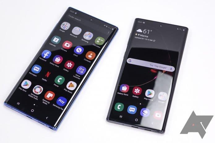 Versão estável do Android 10 começa a chegar ao Galaxy Note10 e Note10+