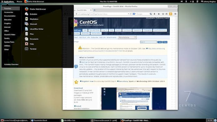 CentOS Linux 8.1 lançado com base no Red Hat Enterprise Linux 8.1