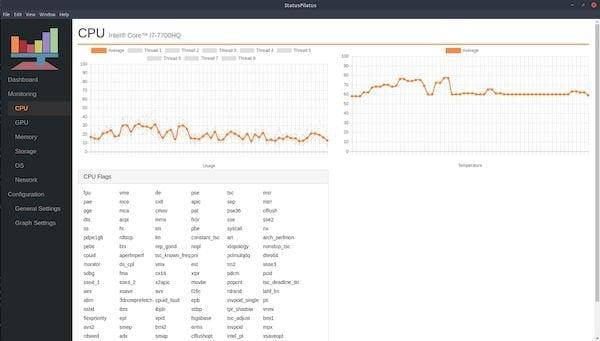 Como instalar monitor de sistema StatusPilatus no Linux
