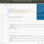 Como instalar o editor de código Brackets no Linux via Snap