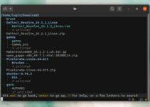 Como instalar o gerenciador de arquivos Broot no Linux
