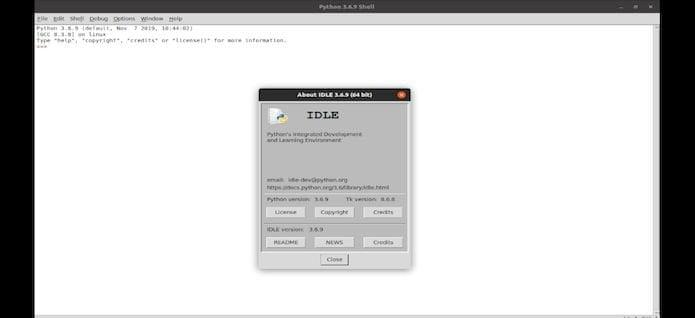 Como instalar o IDE Python IDLE no Linux Ubuntu, Mint, Debian e derivados