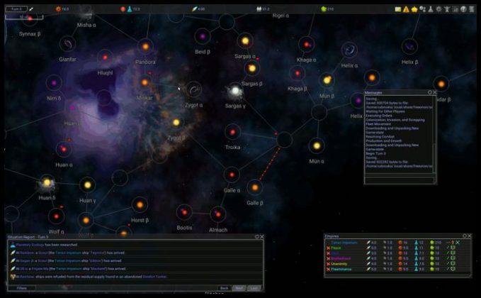 Como instalar o jogo Master of Orion FreeOrion no Linux via Snap