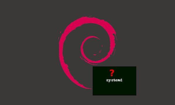 Debian abriu a porta para o suporte a inits alternativos ao systemd