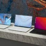 Estande da Dell na CES 2020 hospedou os mais recentes laptops da empresa