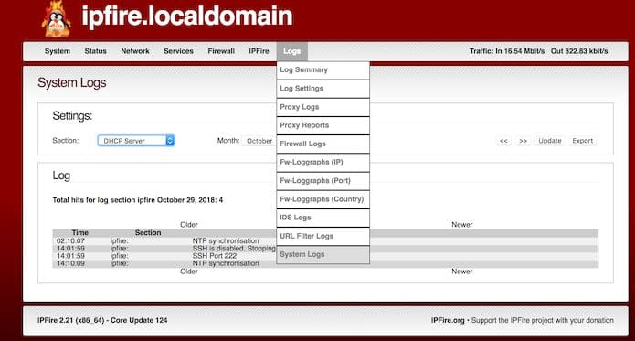 IPFire 2.23 Core 139 lançado - Confira as novidades e veja onde baixar