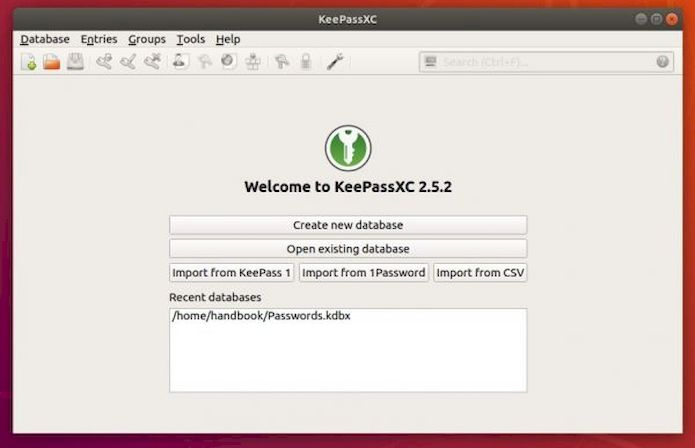 KeePassXC 2.5.2 lançado com melhorias de estabilidade e usabilidade
