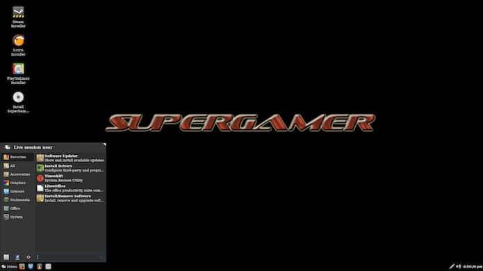 SuperGamer 5 lançado com base no Ubuntu 19.10 e kernel 5.3