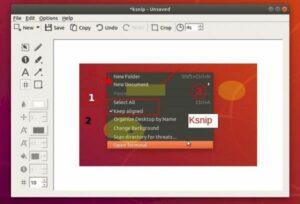 Como instalar o app de captura de tela Ksnip no Ubuntu e derivados