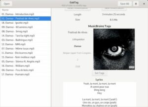 Como instalar o editor de tags GabTag no Linux via Snap