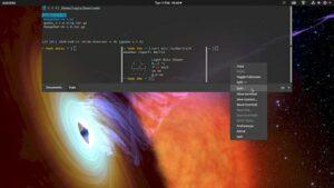 Guake 3.7 lançado com a opção de alterar as cores dos terminais em uma base por guia