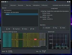 Como instalar o front-end gráfico Qv2ray no Linux via Flatpak