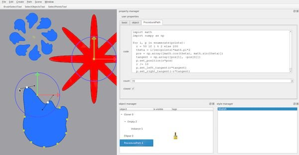 Como instalar o modelador de vetores Ommpfritt no Linux via AppImage