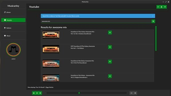 Como instalar o reprodutor Musicarley no Linux via Snap