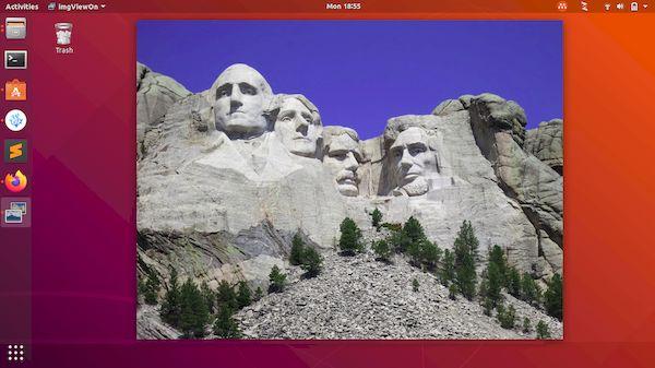 Como instalar o visualizador de imagens imgViewOn no Linux via Snap