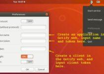 Envie e receba mensagens no Ubuntu Desktop com o Gotify Indicator