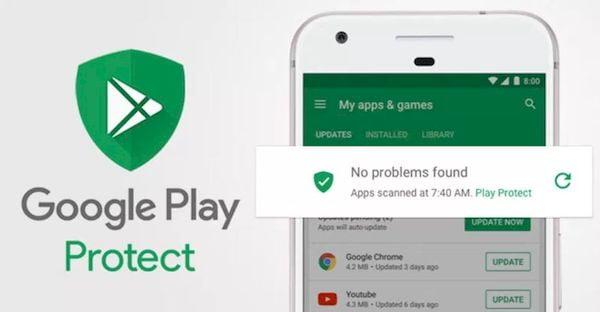 Google Play Protect bloqueou 1.9 bilhão de instalações de malware em 2019
