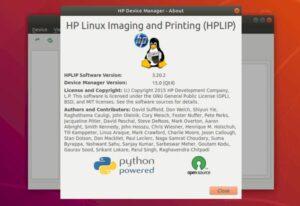 HPLIP 3.20.2 lançado com suporte ao Linux Mint 19.3
