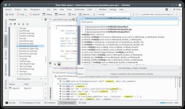 KDevelop 5.5 lançado com melhorias no suporte para C++ e PHP