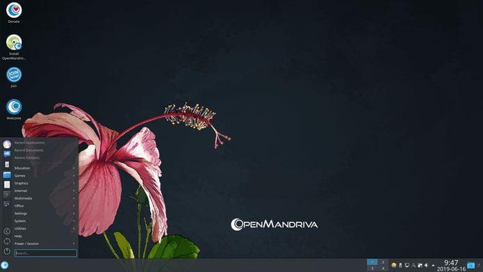 OpenMandriva 4.1 lançado com kernel, Plasma 5.17.5 e LibreOffice 6.4.0