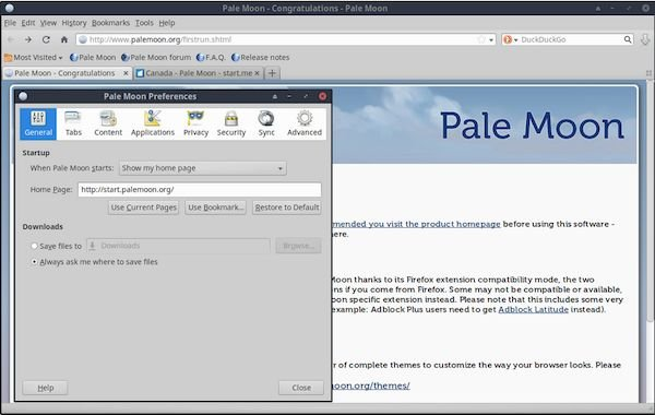 Pale Moon 28.8.3 lançado com algumas correções de bugs e um patch para o XUL
