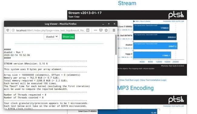 Phoronix Test Suite 9.4 M3 lançado com mais melhorias para análise de resultados de benchmark