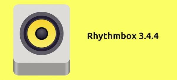 Rhythmbox 3.4.4 lançado com plug-in ListenBrainz, novo ícone e mais