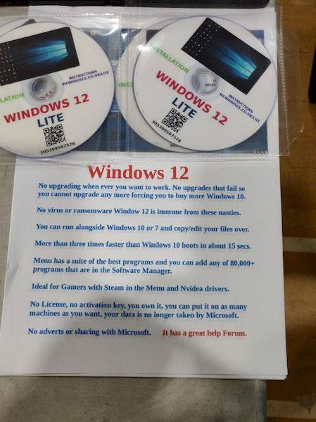 Windows 12 Lite é baseado em Linux e promete ajudar quem cansou do Windows 10