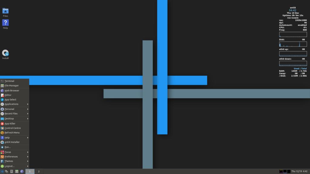 antiX 19.2 lançado com correções, atualizações e mais