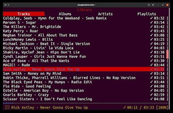 Cliente Spotify no Terminal? Instale o ncspot via Snap!