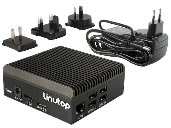 Distribuição de quiosques Linutop OS recebeu suporte ao Raspberry Pi 4