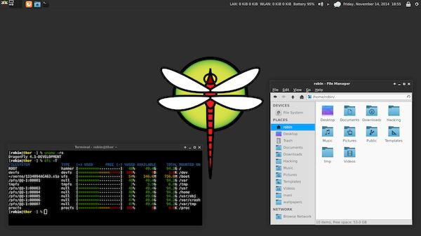 DragonFly BSD 5.8 lançado com melhora no suporte ao driver de vídeo