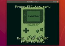 Game Boy no Linux? Instale o emulador SameBoy via Snap!