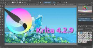 Krita 4.2.9 lançado com correção de bugs no Python e mais