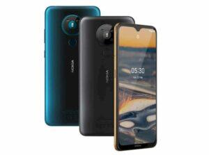 Nokia 5.3 anunciado com Android 10 e configuração de câmera Quad