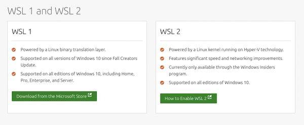 Nova página Web apresenta os benefícios do uso do Ubuntu e WSL no Windows 10