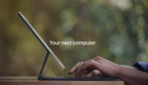 novo iPad Pro da Apple desafia sua definição de computador