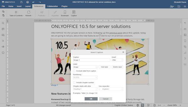 onlyoffice 5 5 lancado com comparacao de documentos e classificacao de dados 2 - OnlyOffice 5.5 lançado com comparação de documentos e classificação de dados