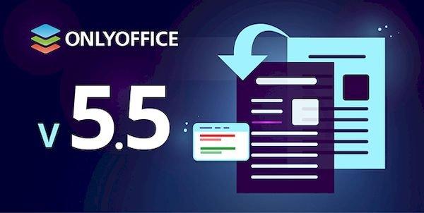 OnlyOffice 5.5 lançado com comparação de documentos e classificação de dados