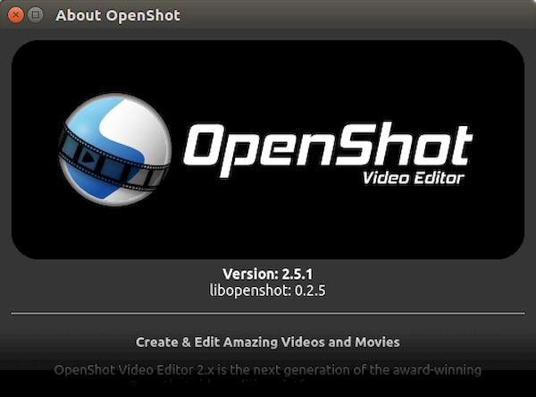 OpenShot 2.5.1 lançado com melhorias de desempenho e mais