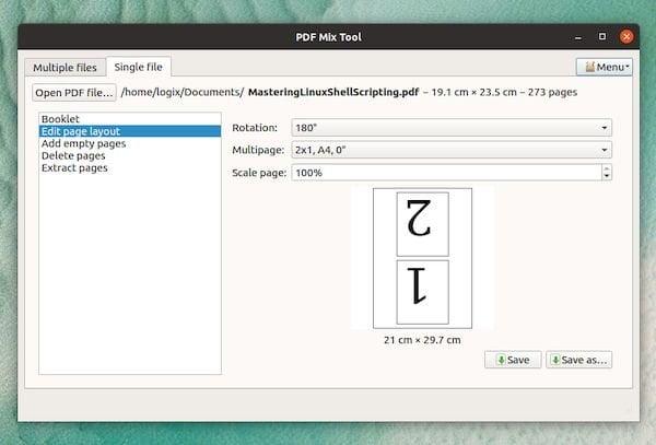 PDF Mix Tool 0.5 lançado com o modo de arquivo único e mais