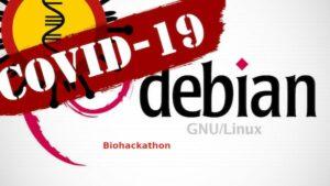 Projeto Debian anunciou a Biohackathon COVID-19 para ajudar no combate a pandemia