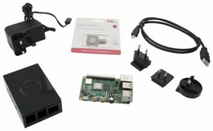 Raspberry Pi 4 starter kit com 4GB de RAM custa 77 dólares