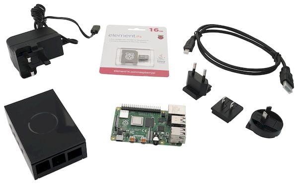 Raspberry Pi 4 starter kit com 4GB de RAM custa 77 dólares