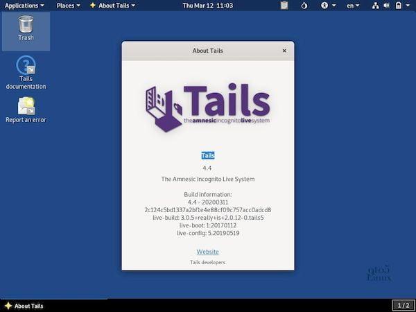 Tails 4.4 lançado com suporte às criptomoedas Trezor e mais