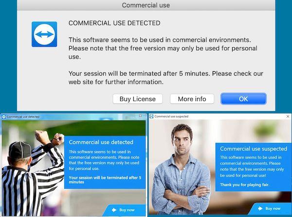 TeamViewer interrompeu as verificações de uso comercial nas regiões afetadas por coronavírus